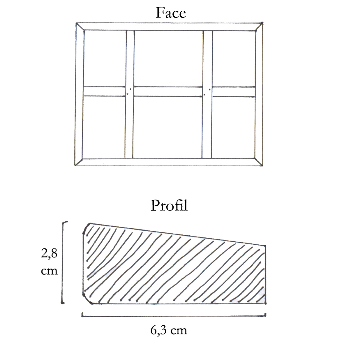 ch ssis entoil s grands formats 180x200cm toiles de france. Black Bedroom Furniture Sets. Home Design Ideas